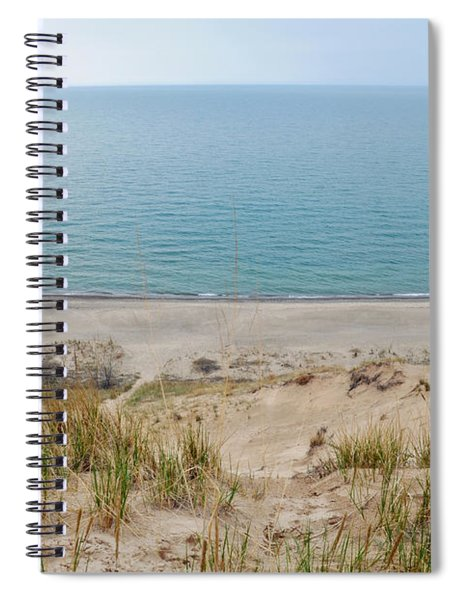 Indiana Dunes National Lakeshore Evening Spiral Notebook