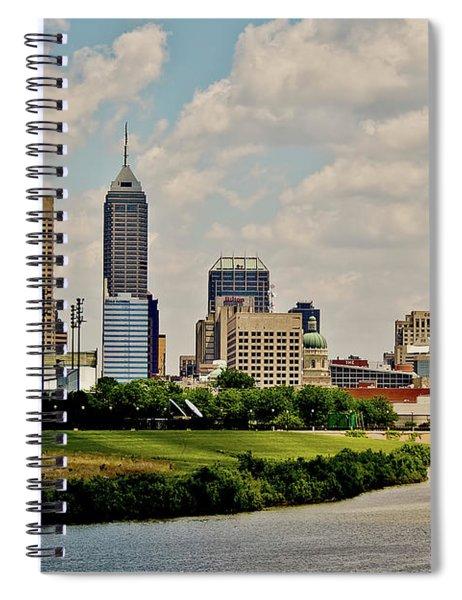 Indianapolis Skyline 25 Spiral Notebook