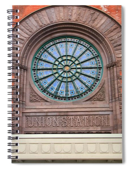 Indianapolis Union Station Building Spiral Notebook