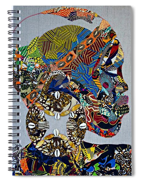 Indigo Crossing Spiral Notebook