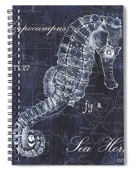 Indigo Verde Mar 1 Spiral Notebook