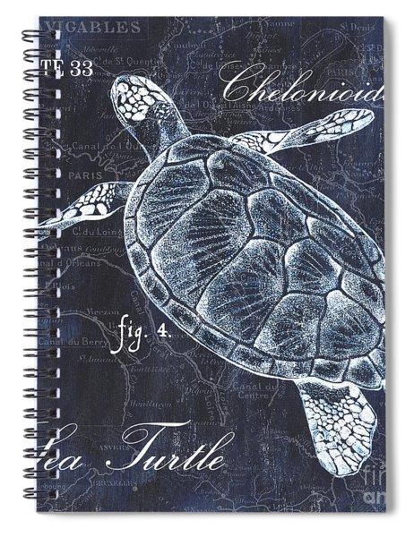 Indigo Verde Mar 2 Spiral Notebook