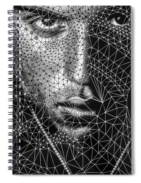 Individuality Of The Self Spiral Notebook
