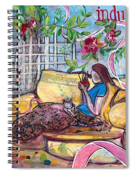 Indulge Spiral Notebook