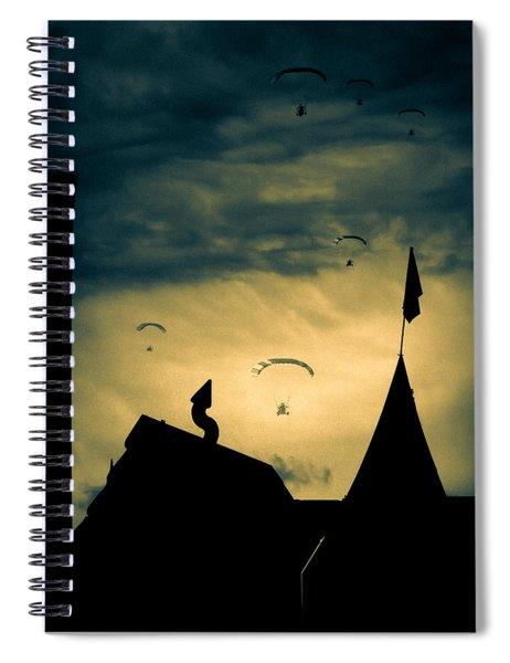 Industrial Carnival Spiral Notebook