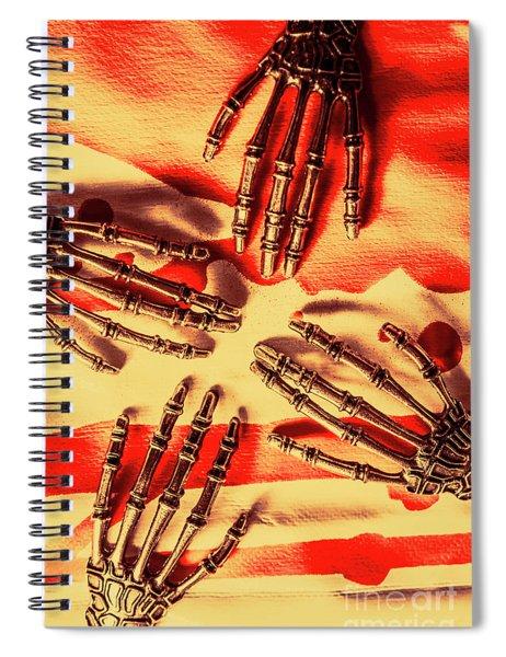 Industrial Death Machines Spiral Notebook