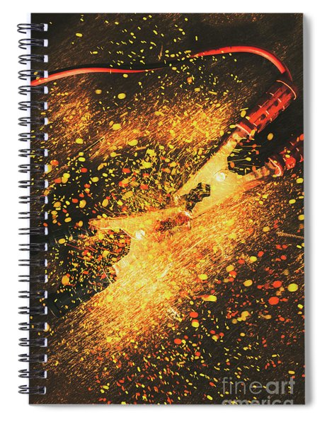 Industrial Jump Start Spiral Notebook