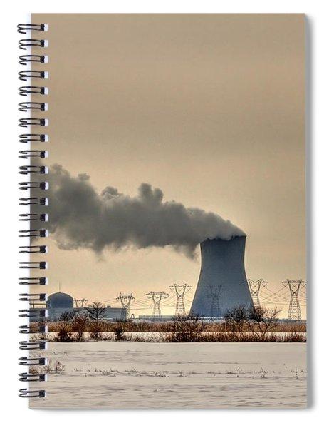 Industrialscape Spiral Notebook