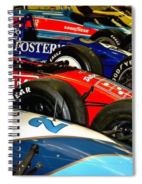 Indy Past 21170 Spiral Notebook