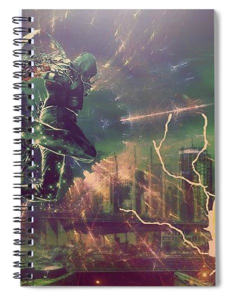 inFAMOUS Spiral Notebook