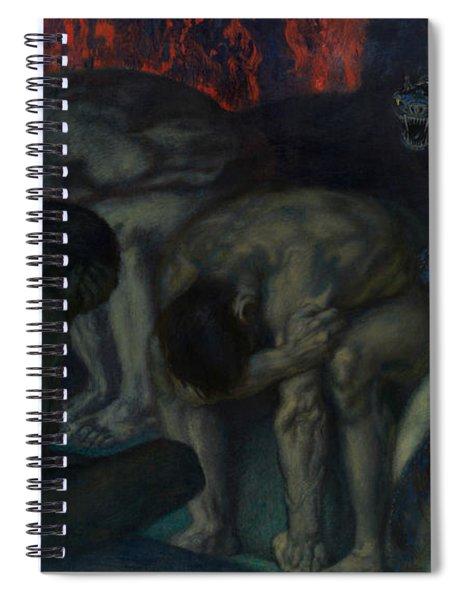 Inferno Spiral Notebook