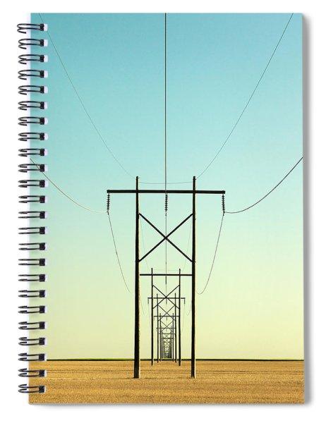 Infinite Conductivity Spiral Notebook