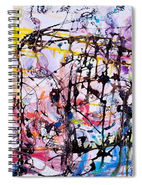 Information Network Spiral Notebook