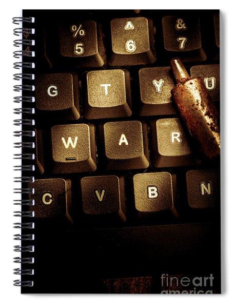 Information War Spiral Notebook