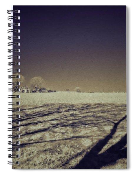 Infrared Landscape Lancaster Pa Spiral Notebook