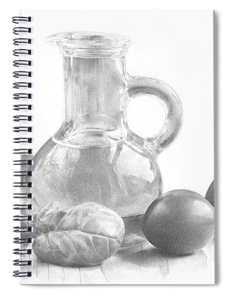 Ingredients Spiral Notebook