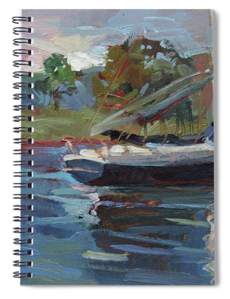 Inland Bay - Catalina Island Spiral Notebook