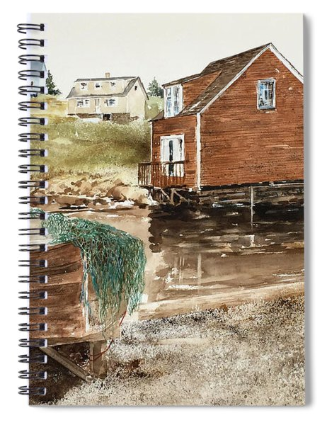 Inlet At Peggy's Cove Spiral Notebook