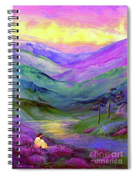 Inner Flame, Meditation Spiral Notebook