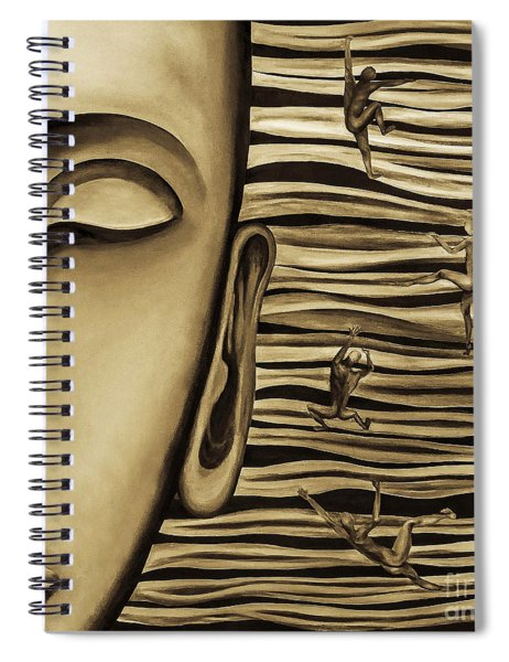 Inner Thought Spiral Notebook