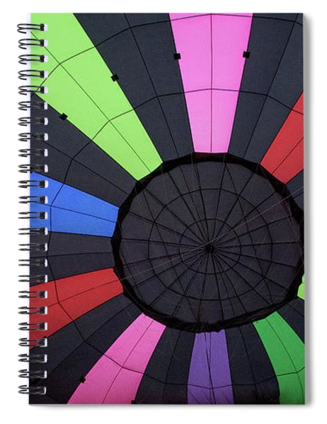Inside The Balloon Spiral Notebook