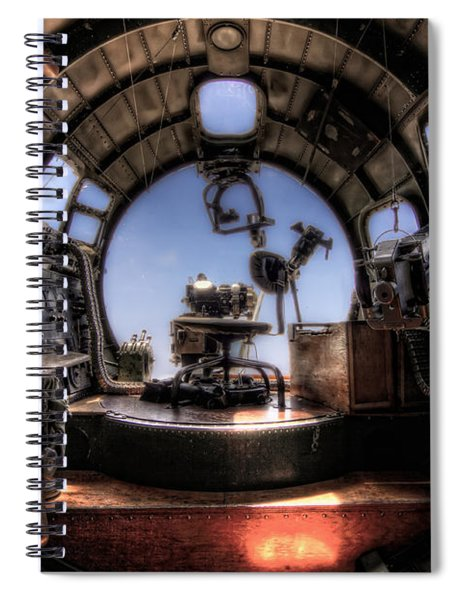 Inside The Flying Fortress Spiral Notebook