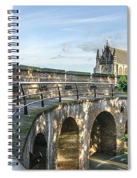 Inside The Leiden Citadel Spiral Notebook