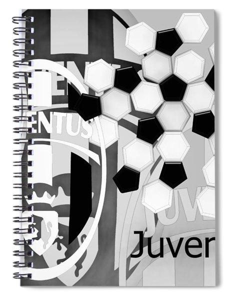 Inspired In Juventus Spiral Notebook