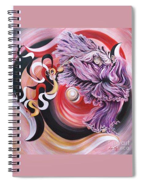 Gentle Spirit  Integrated Force Spiral Notebook
