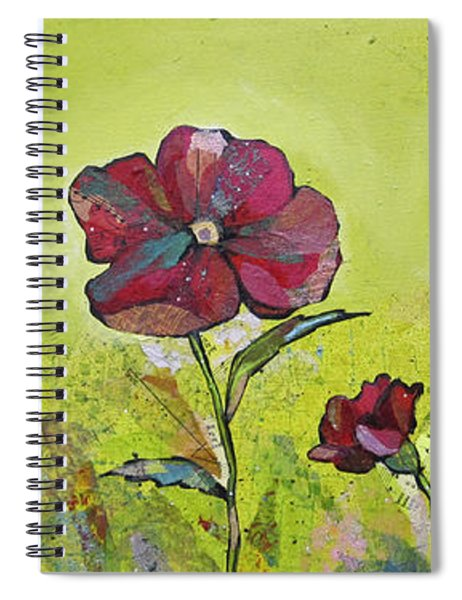 Intensity Of The Poppy II Spiral Notebook