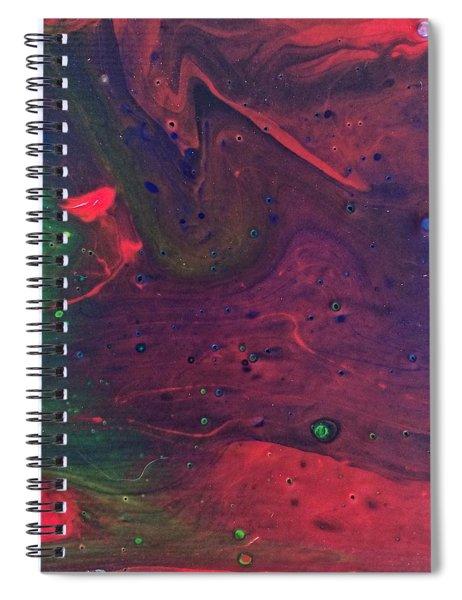 Intergalactic  Spiral Notebook