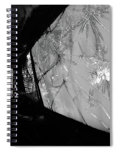 Interior In Gray Spiral Notebook