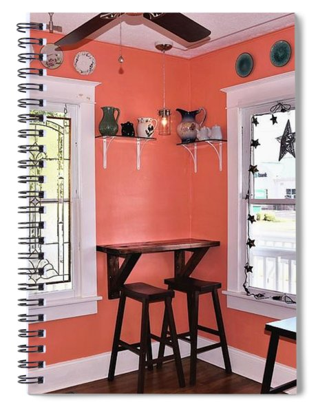 Interior Of Morning Buns Spiral Notebook