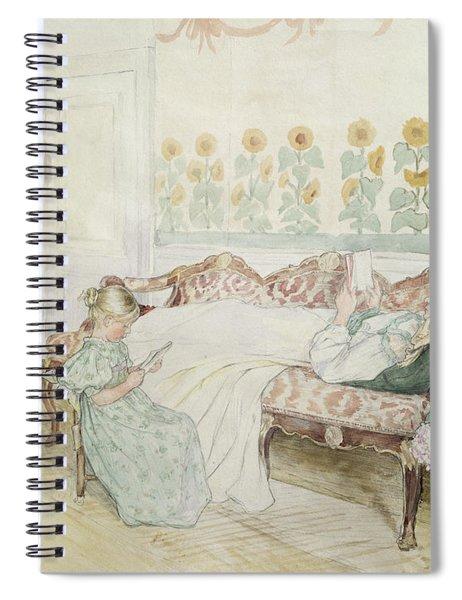 Interior Spiral Notebook