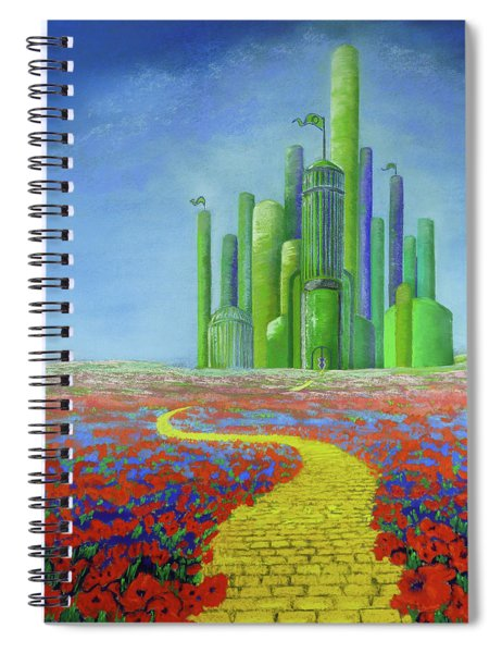 Interlude On The Journey Home Spiral Notebook