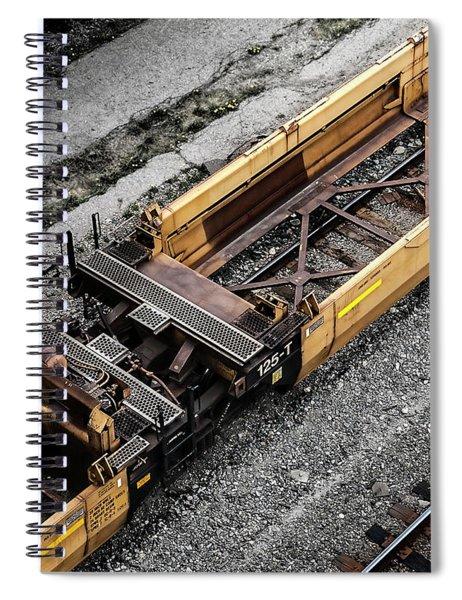 Intermodal Well Car Spiral Notebook