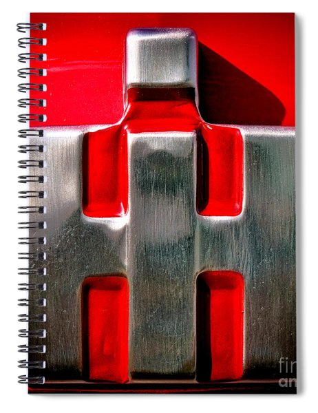 International Harvester Logo Nameplate Spiral Notebook