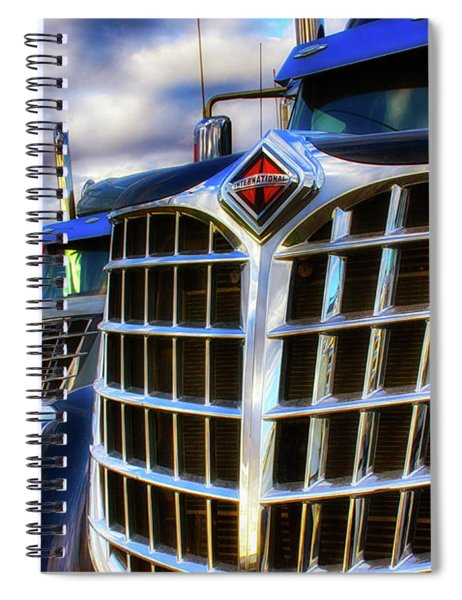 International Trucks 1 Spiral Notebook
