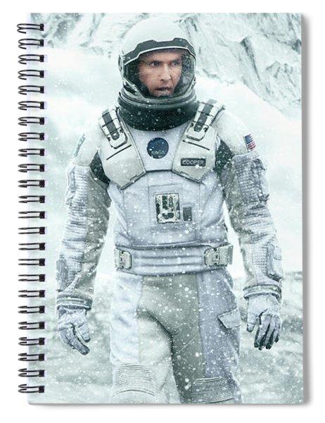Interstellar Spiral Notebook