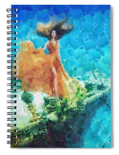 Into Deep Spiral Notebook