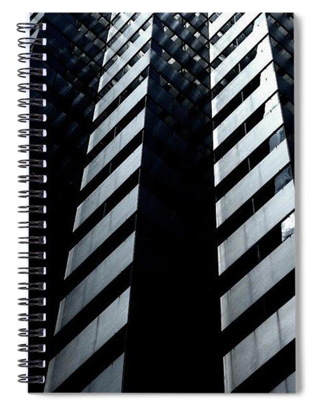 Into Light Spiral Notebook