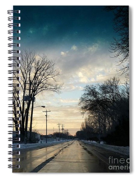 Into New Country Spiral Notebook