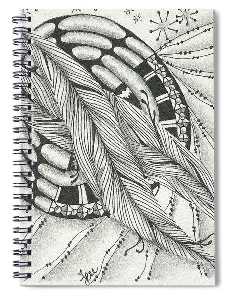Into Orbit Spiral Notebook