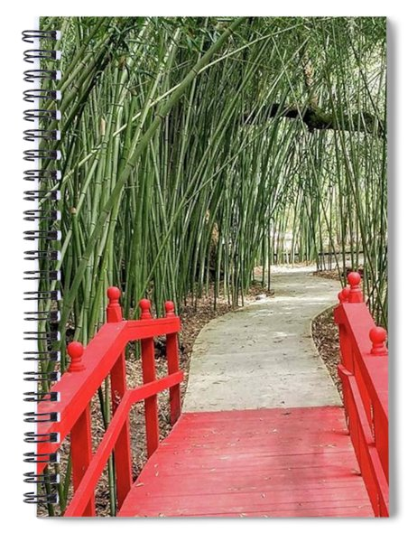 Into The Bamboo We Go Spiral Notebook