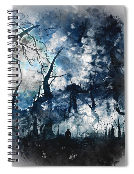 Into The Darkness - 01 Spiral Notebook