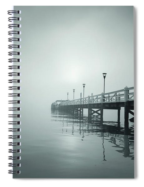 Into The Fog Spiral Notebook