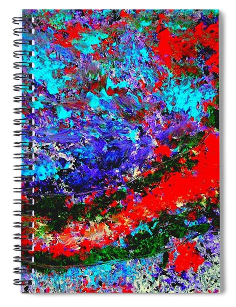 Into The Forest Of Midnight Spiral Notebook