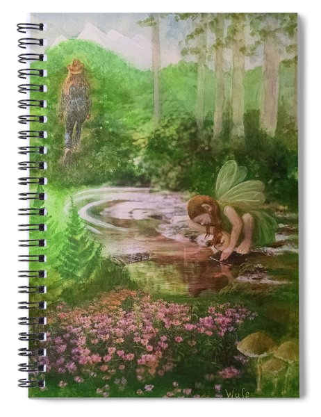 Into The Hollow Hills Spiral Notebook
