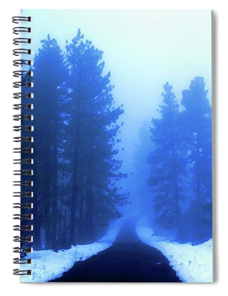 Into The Misty Unknown Spiral Notebook