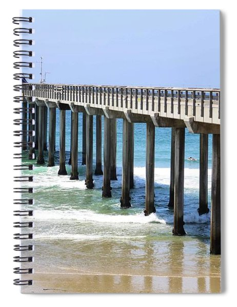 Into The Ocean Spiral Notebook